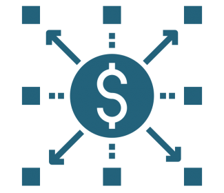 cost allocation icon